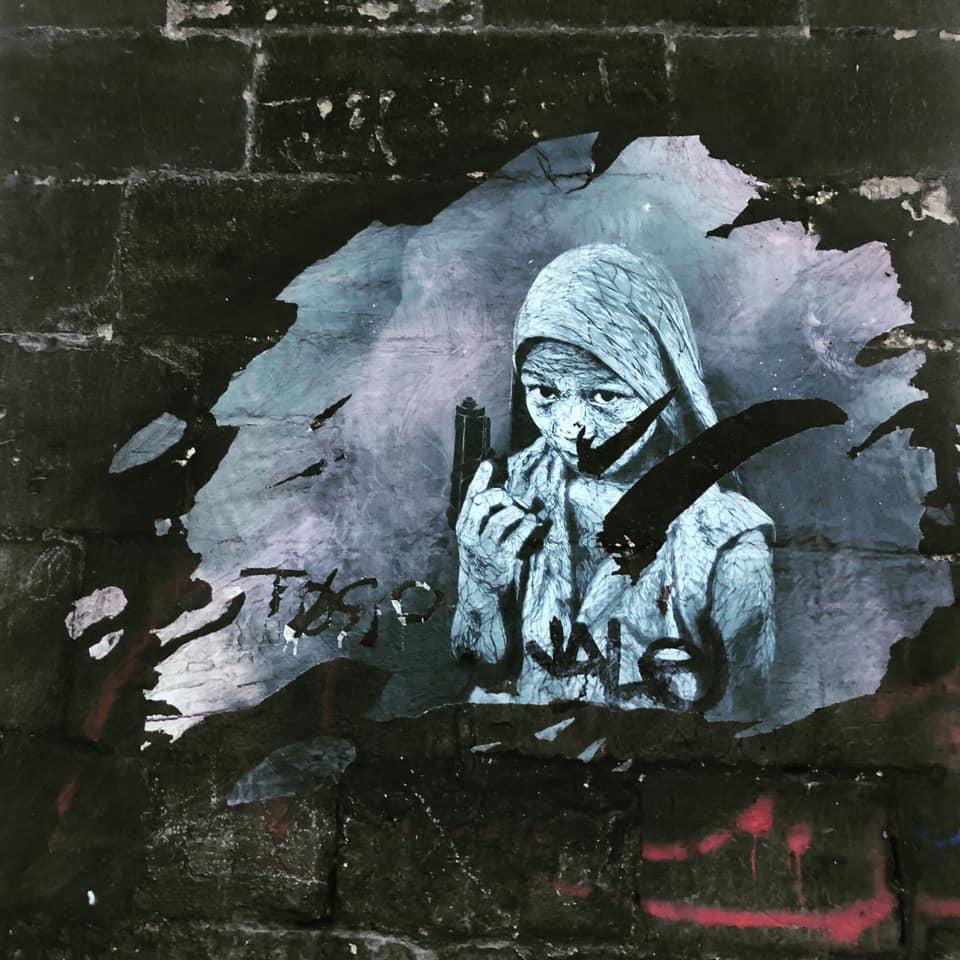 rue street-art ville gracia bejjani photo poeme poesie texte litterature ecriture