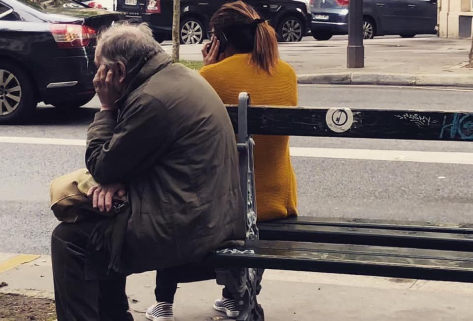 portable rue street-art solitude gracia bejjani photo paris poeme poesie texte litterature ecriture