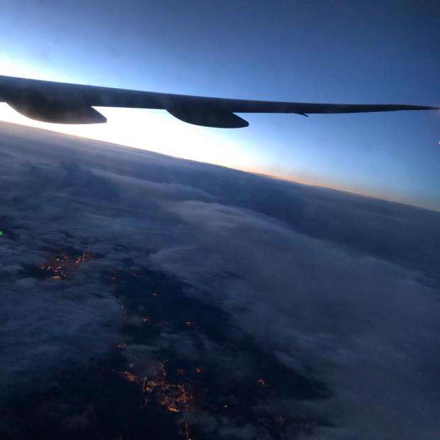 vue univers nuage horizon avion gracia bejjani photo philo texte ecriture