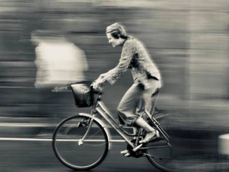 mouvement velo street-photo