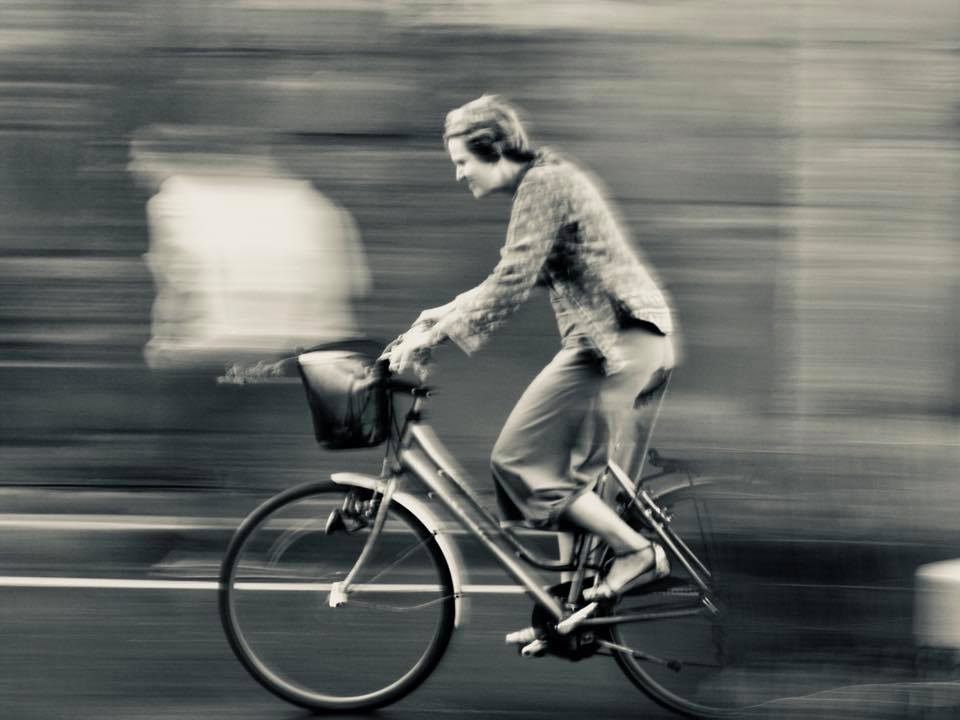 mouvement velo street-photo