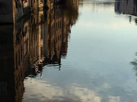 reflet ville vertical street-photo