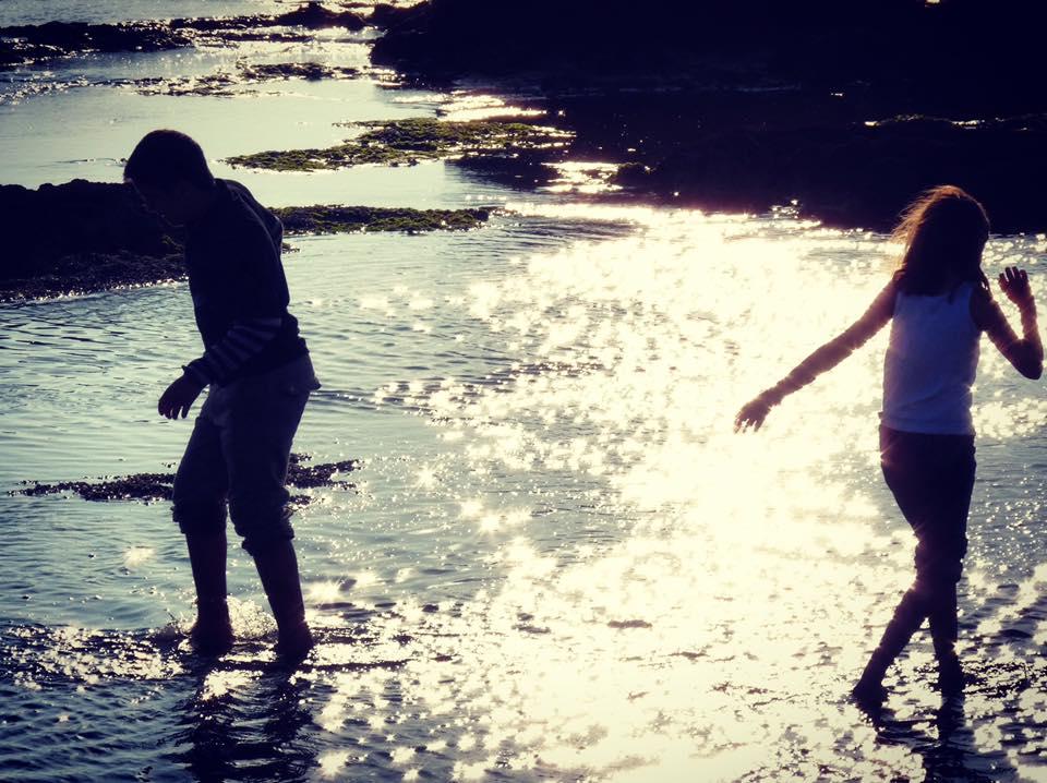 enfance mer lumière separation