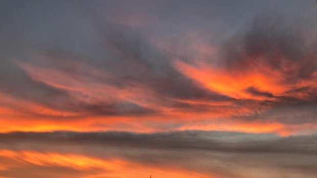 insomnie matin ciel horizon